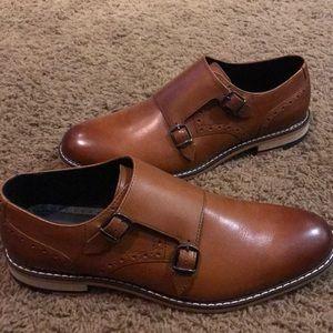3de2aaed1a8e Bar 111 Men s Dress Shoes Double Monk Straps